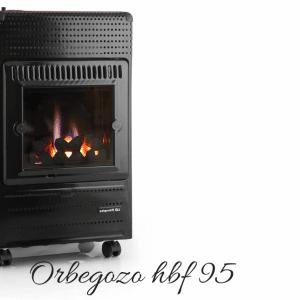 Orbegozo hbf 95 3500W estufa de gas butano
