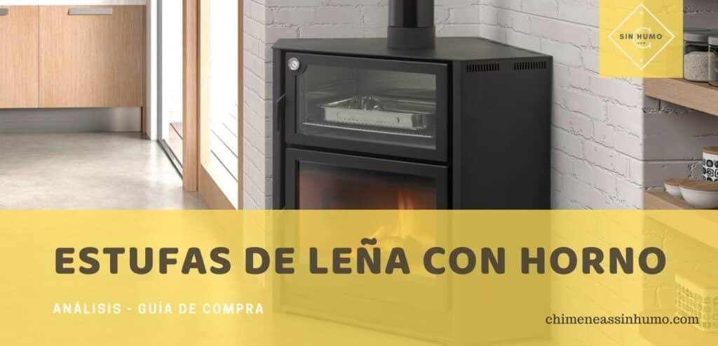 mejores estufas de leña con hornos