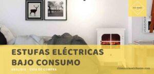 mejores estufas eléctricas bajo consumo