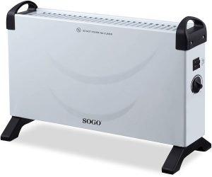 estufa eléctrica sogo