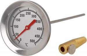 termómetro chimenea