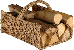 cesta de leña home