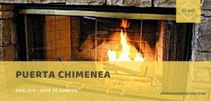 mejor puerta chimenea